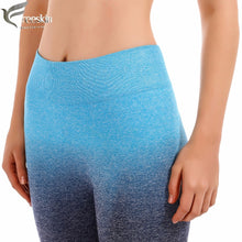 Load image into Gallery viewer, High Waist Seamless Yoga Shorts - TAIGS000