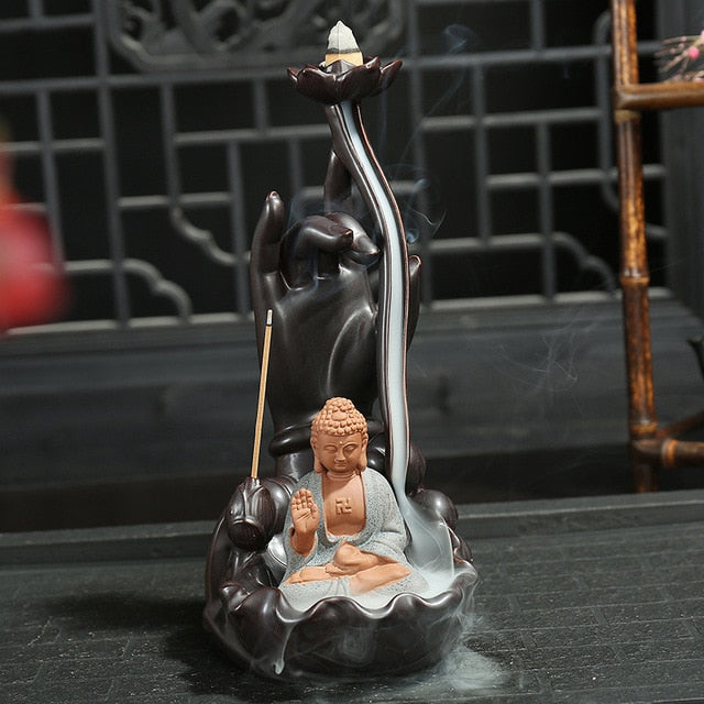 Ceramic Backflow Incense Burner - TAIGS000