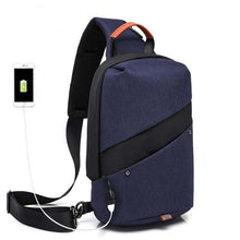 Load image into Gallery viewer, Men USB Charging Chest Bag - TAIGS000
