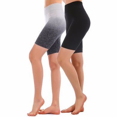 High Waist Seamless Yoga Shorts - TAIGS000