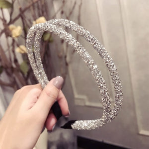 Big Bow Rhinestone Hairband - TAIGS000