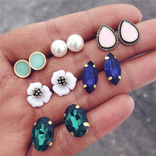 Load image into Gallery viewer, Vintage Geometric Stud Earrings Set - TAIGS000