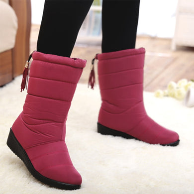 Wedge Heels Snow Boots - TAIGS000