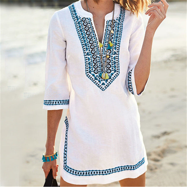 Embroidered Tunic - TAIGS000