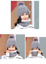 Load image into Gallery viewer, Ski Cap Scarf set - TAIGS000