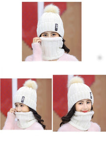 Ski Cap Scarf set - TAIGS000