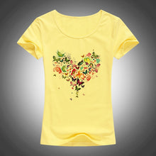 Load image into Gallery viewer, Kawaii Heart butterfly t shirt - TAIGS000