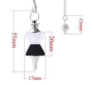 Reiki Pendulum Necklace For Dowsing - TAIGS000