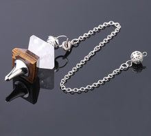 Load image into Gallery viewer, Reiki Pendulum Necklace For Dowsing - TAIGS000
