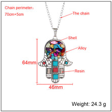 Load image into Gallery viewer, Hand Pendants Vintage necklace - TAIGS000