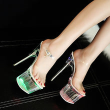 Load image into Gallery viewer, Crystal LED Sandals - TAIGS000