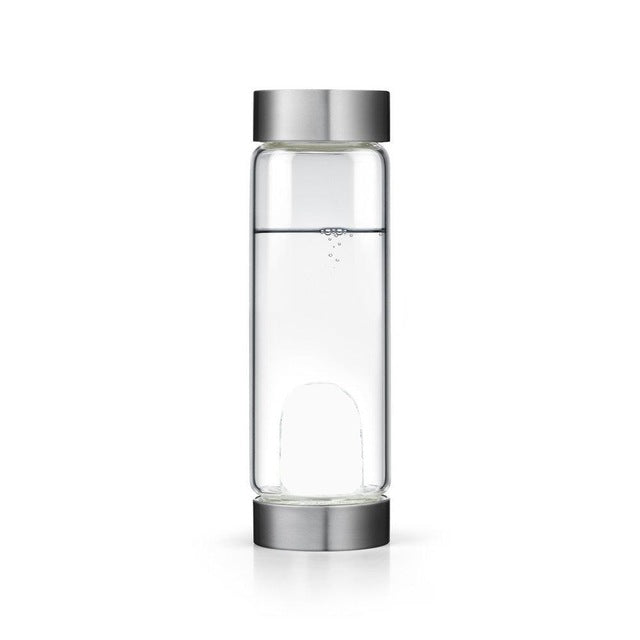Healing Natural Crystal Water Bottle - TAIGS000