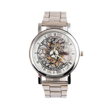 Load image into Gallery viewer, Men's Steel Strip Mechanical Gear Analog Watch - TAIGS000