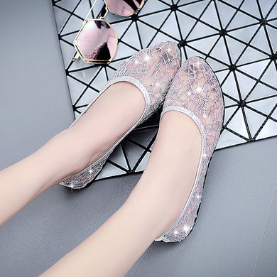 shallow mouth Korean bling shoes - TAIGS000