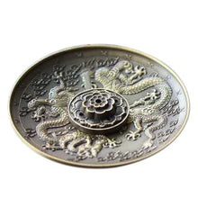 Load image into Gallery viewer, Dragon Pattern Incense Base - TAIGS000