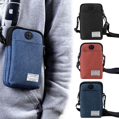 Multifunctional Men's Phone Bag - TAIGS000