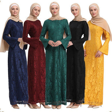 Lace dress Abaya - TAIGS000