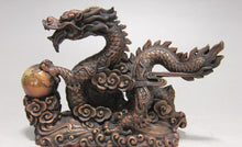 Load image into Gallery viewer, Feng Shui Bronze Dragon - TAIGS000