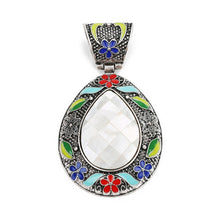 Load image into Gallery viewer, Bohemian Ethnic Abalone Shell Charm pendant - TAIGS000