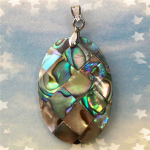 Mother Of Pearl Abalone Shell Pendant - TAIGS000