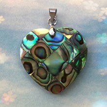 Load image into Gallery viewer, Mother Of Pearl Abalone Shell Pendant - TAIGS000