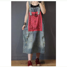 Load image into Gallery viewer, Spaghetti Strap Denim Dress - TAIGS000