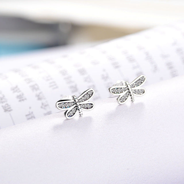 Mickey crystal Stud Earrings - TAIGS000