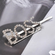 Load image into Gallery viewer, Rhinestone Word Barrette - TAIGS000