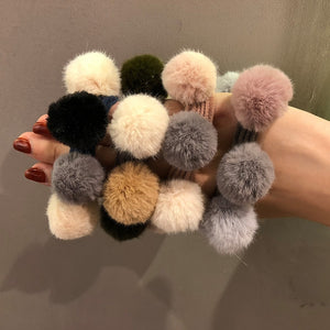Pompom Hair Ties - TAIGS000