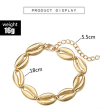 Load image into Gallery viewer, Shell Charm Anklet - TAIGS000