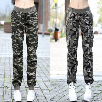 camouflage cargo pants - TAIGS000