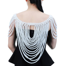 Load image into Gallery viewer, Vintage Statement Body Shoulder Bib Chain - TAIGS000