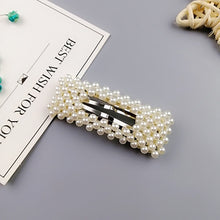 Load image into Gallery viewer, Korean Pearl Barrettes - TAIGS000