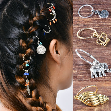Personality Metal Pendant Hairpin set - TAIGS000