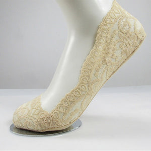 Lace Flower Ankle Socks - TAIGS000