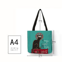 Load image into Gallery viewer, Eco Kitten Shopping Bag - TAIGS000