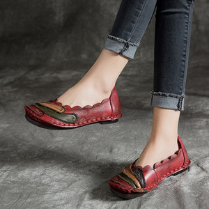 Lazy Leather Loafers - TAIGS000