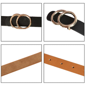 Double Ring Buckle Belt - TAIGS000