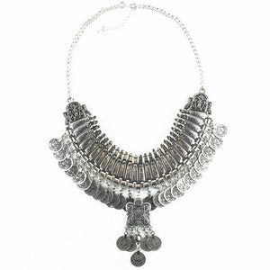 Collar Coin Necklace - TAIGS000