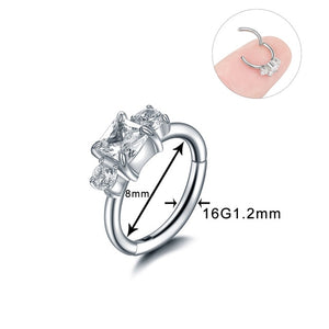 316L Stainless Steel Septum Nose Rings - TAIGS000