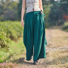Load image into Gallery viewer, Vintage Jacquard Palazzo Pants - TAIGS000