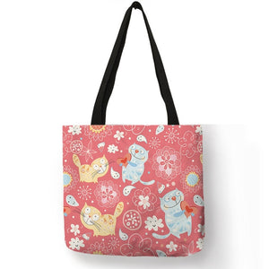 Kitten Collage Tote Bags - TAIGS000