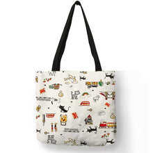 Load image into Gallery viewer, Kitten Collage Tote Bags - TAIGS000