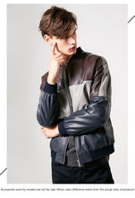 Load image into Gallery viewer, Patchwork Leather Jacket - TAIGS000