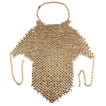 Load image into Gallery viewer, Metal Body Necklace Chain Bra - TAIGS000