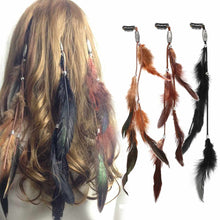 Load image into Gallery viewer, Feather Hairgrips SET OF 3 - TAIGS000