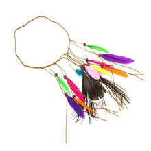 Load image into Gallery viewer, Multi color Feather headband - TAIGS000