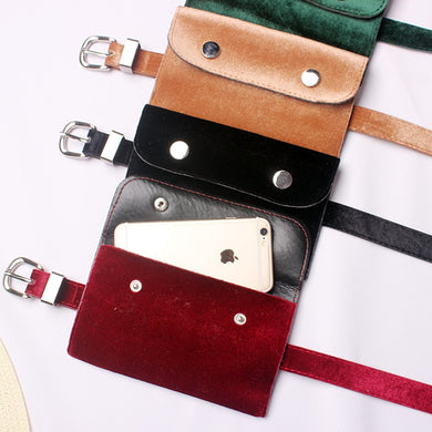 Suede Pin Buckle Belts - TAIGS000
