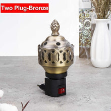 Load image into Gallery viewer, Portable Mini Electric Bakhoor Burner - TAIGS000
