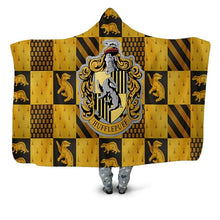 Load image into Gallery viewer, Houses Hooded Blanket - TAIGS000
